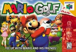 Mario Golf (USA) Box Scan